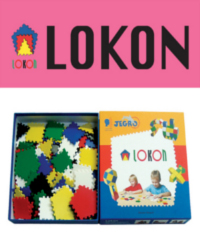 로콘 1인용 교구 (로콘 블록 158pcs + 활용 가이드북 set)